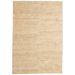Cream Earth Rug in Hand-Knotted Jute by Nani Marquina & Ariadna Miquel, Large