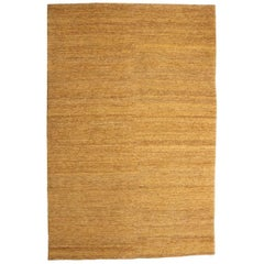 Ochre Earth Rug in Hand-Knotted Jute by Nani Marquina & Ariadna Miquel, Large