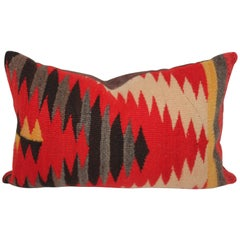 Navajo Indian Weaving Blazing Pillow