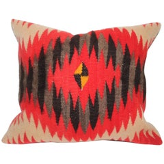 Navajo Indian Weaving Eye Dazzler Pillow