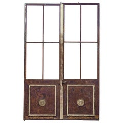Pair of 19th Century French Chateau Doors