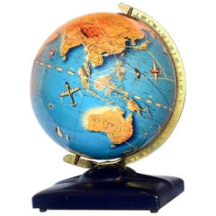Large Art Deco Globe