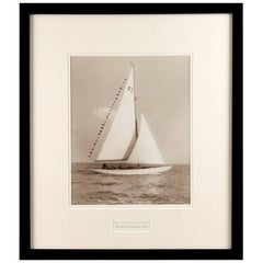 Silver Gelatin Photographic Print by Beken - Yacht Mary Falconer
