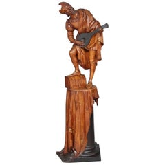 19th Century Italian Carved Wood Sculpture