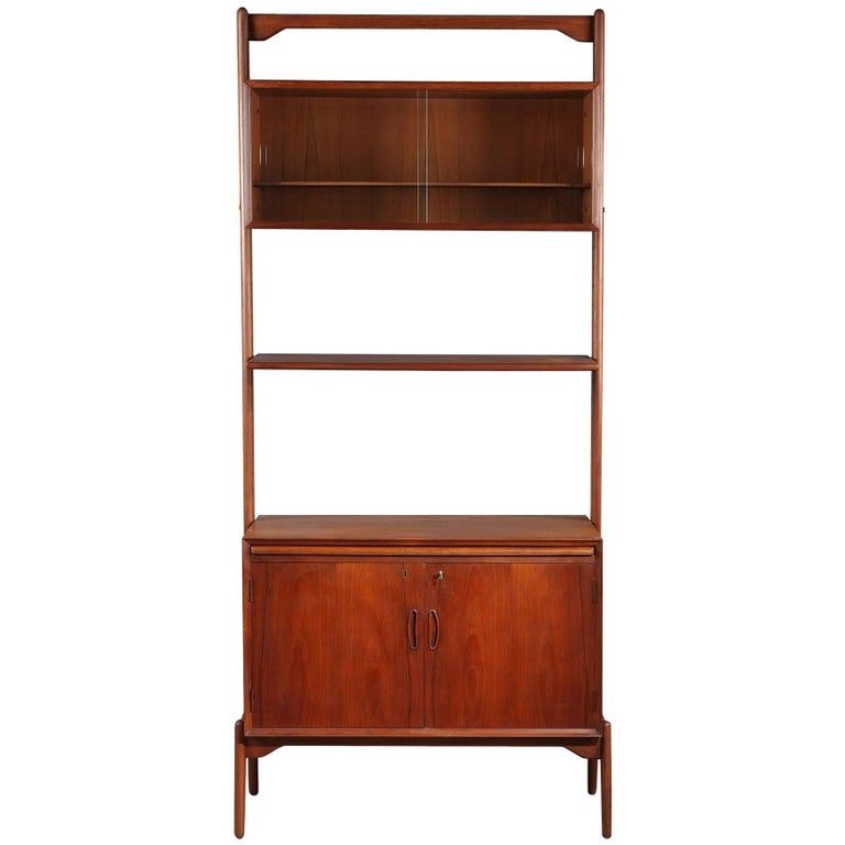 Late 20th Century Danish Teak Modular Bookcase
