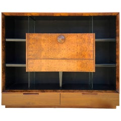 Gilbert Rohde Paldao Secretary Bookcase for Herman Miller