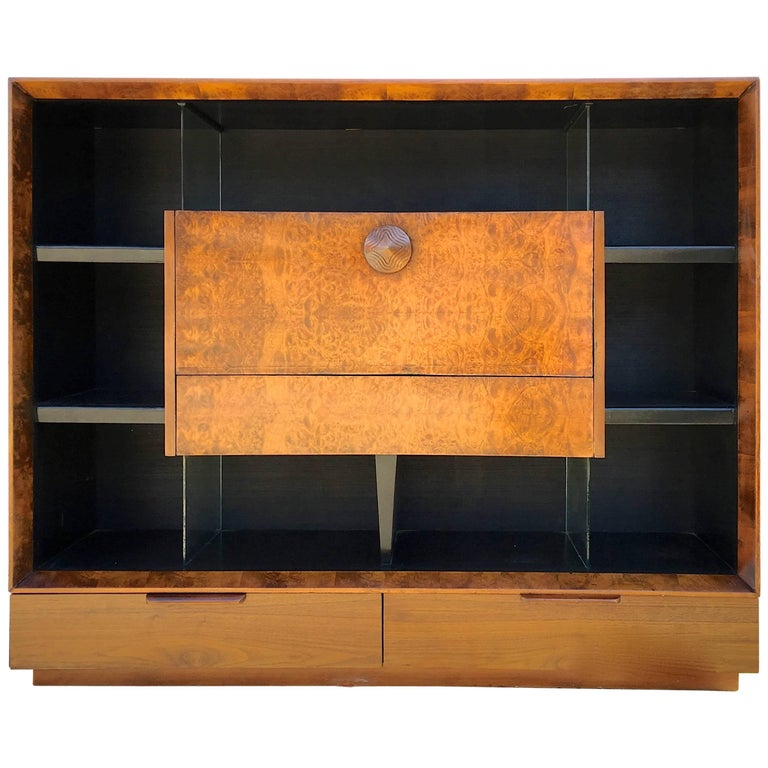 Gilbert Rohde Paldao Secretary Bookcase for Herman Miller For Sale