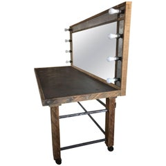 Large Industrial Custom Vanity by Baker Structures