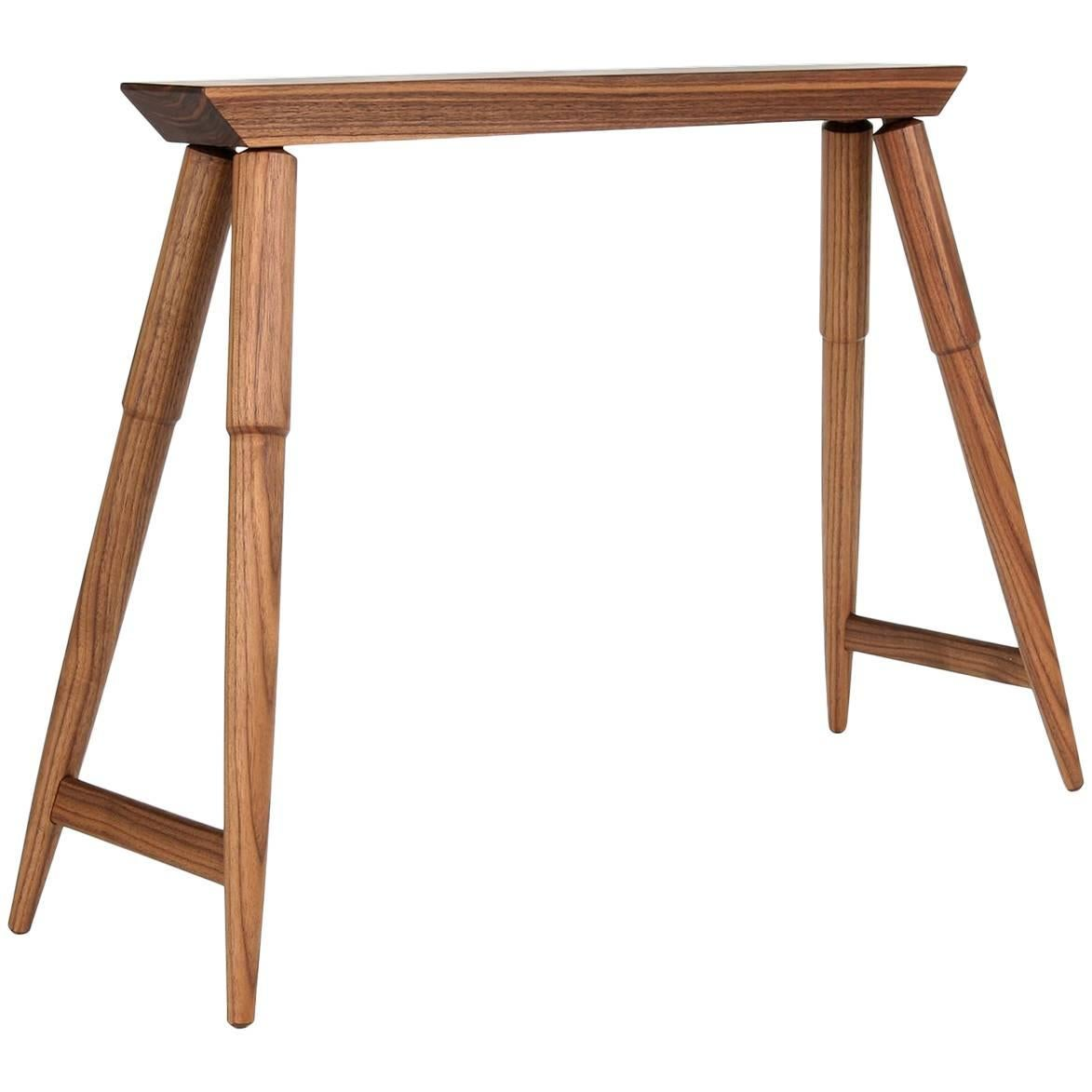 Rockport Sawhorse, Contemporary Hardwood Accent Piece Custom Made By Studio  Dunn