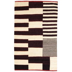 Large Medina 1 Hand-Loomed Afghan Wool Kilim Rug by Nani Marquina in Stock