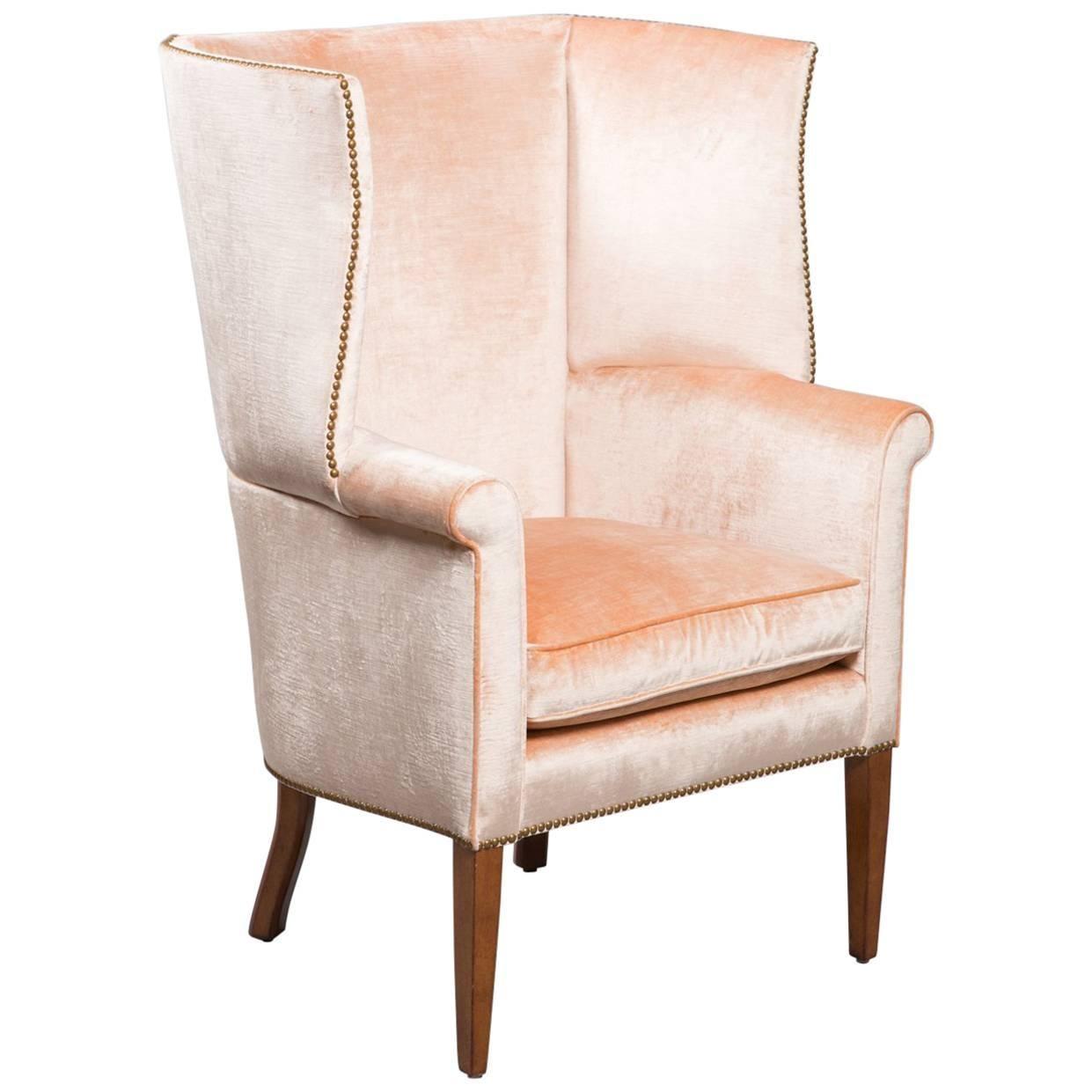 1950s Midcentury Wingback Armchair