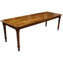 Big 19th Century French Farmhouse Table