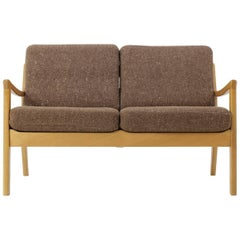 "Ole Wanscher Oak ""Senator"" Sofa by Cado Denmark, Model 166"