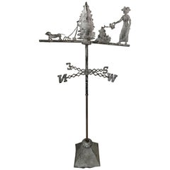 19th Century Zinc Weathervane