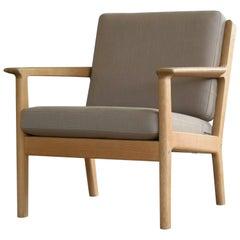 Hans Wegner Easy Chair Model Ge-265 for GETAMA, Denmark