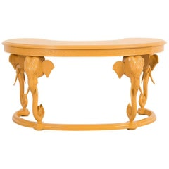 Gampel-Stoll Elephant Lacquered Elephant Desk