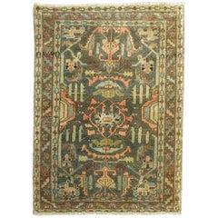 Vintage Persian Malayer Rug