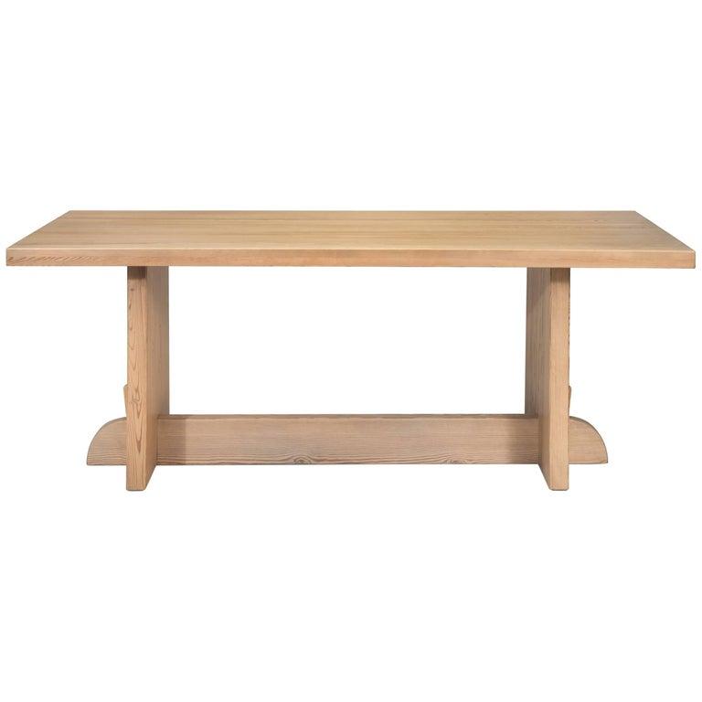 Axel-Einar Hjorth for Nordiska Kompaniet Swedish Modernist Pine Lovö Table