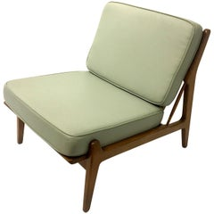Danish Modern Rare Slipper Chair by Kofod Larsen