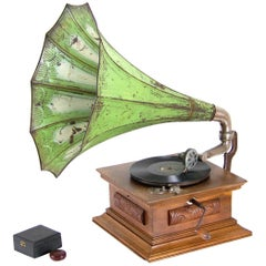 Antique Gramophone with Tube, circa 1910