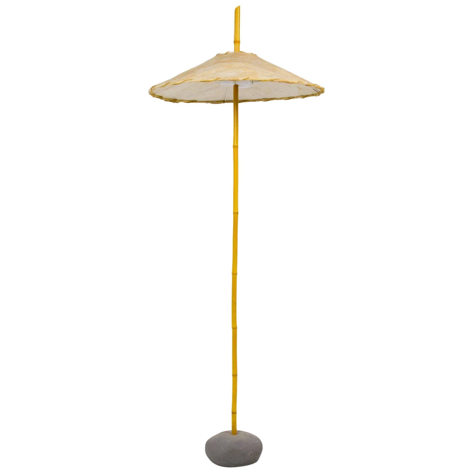 Robert Sonneman Bamboo Floor Lamp For Kovacs For Sale