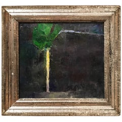 Tree at Midnight Oil Painting