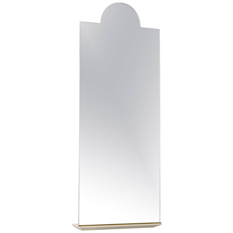 Propped Floor - Length Mirror by Phaedo, Single Arch