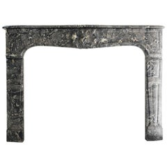 Antique Marble Fireplace, 849