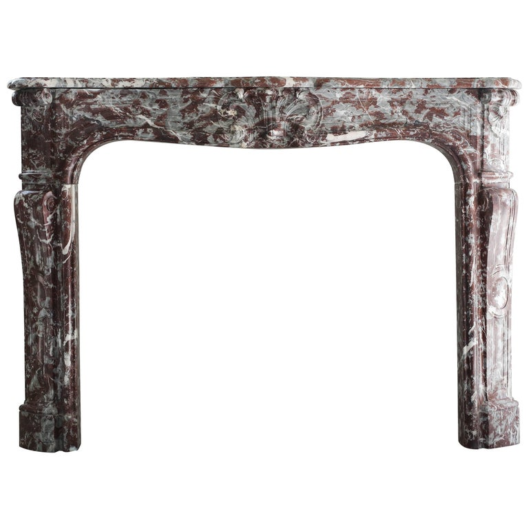 Antique Marble Fireplace, 848