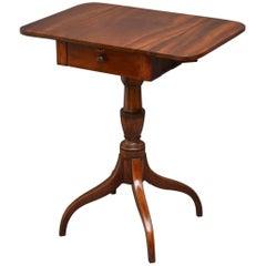 Regency Drop-Leaf Table in Mahogany