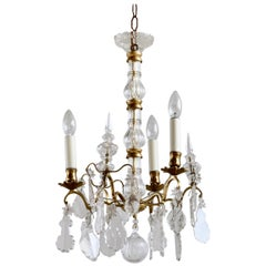 French Early 1900s, Louis XIV Style Chandelier
