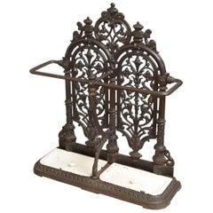 Victorian Cast Iron Umbrella Stand