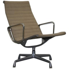 1 of 3 Vitra Eames Herman Miller EA 116 Hopsack Swivel Lounge Armchair