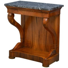 Louis Philippe Walnut Console Table