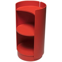 Revolving Bookcase by Kazuhide Takahama for Gavina