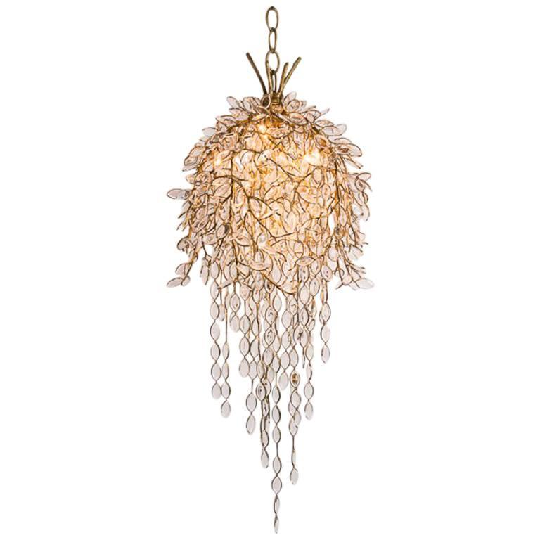 Thomas Pheasant, Willow, Hanging Chandelier, United States, 2015 For Sale