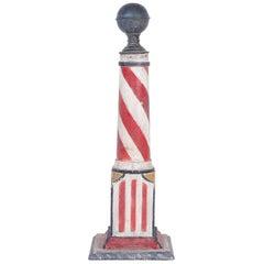 19th Century Folky Barber's Pole