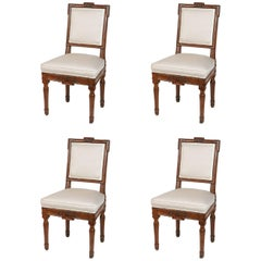 18th Century Louis XVI Carved Side Chairs