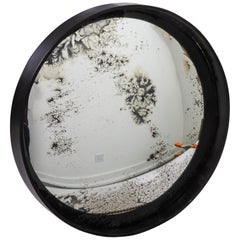Industrial Antique Convex Mirror, Offered by Fork and Rose