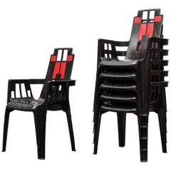 Pierre Paulin 'Boston' Chairs for Henry Massonnet
