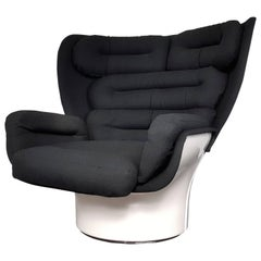 Joe Colombo Elda Chair for Comfort Italy, Designed 1963