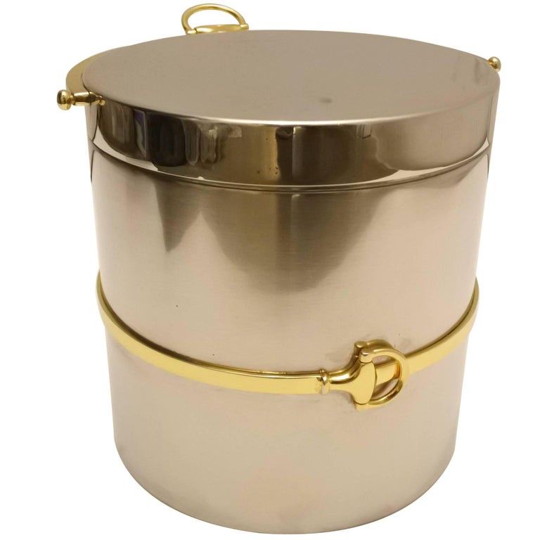 Fabulous Vintage Gucci Ice Bucket 1