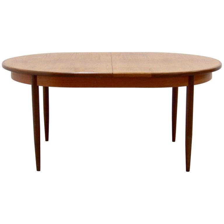 Vintage Extendable Teak Dining Table Form G-Plan, 1960s