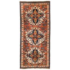 """Antique """"Sunburst"""" or """"Eagle Kazak"""" Rug from Karabagh, Southern Caucasus"""
