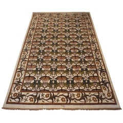 Ivory William Morris Inspired Rug