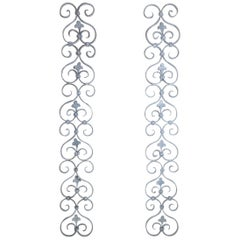 Pair of Wrought Iron Wall Hangings