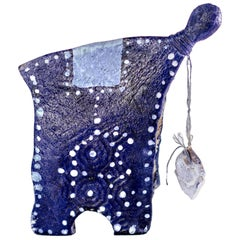 "Bonbon Chouval ""Bleu Voodoo""/Sculpture"