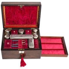 19th Century Victorian Lady's Coromandel Vanity Case