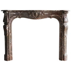 Antique Marble Fireplace, 822