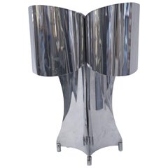 Style Maison Charles, Table Lamp, Metal, circa 1970, France